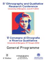 General Programme Booklet