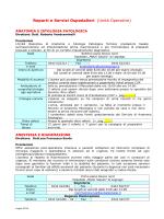 Reparti e Servizi Ospedalieri (Unità Operative)