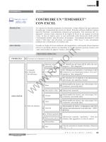 Costruire un timesheet con Excel