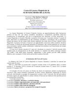 Guida dello Studente 2014-15 - Corso di Laurea Magistrale in