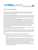 VREL Laser Equipments - Macchine Taglio Laser e Incisione Laser