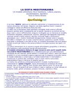 LA DIETA MEDITERRANEA - Liceo Statale Aprosio