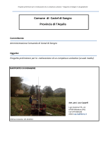 Integrazione relazione geologica
