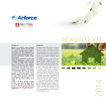 new products - Airforce Made in Fabriano