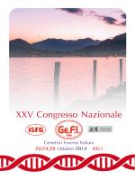 XXV Congresso Nazionale - Spedali Civili di Brescia
