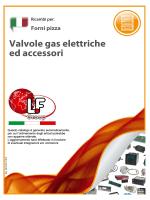Valvole gas elettriche ed accessori