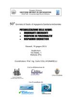 potabilizzazione delle acque - Ingegneria Civile, Architettura