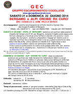 Download - G E C Gruppo Escursionistico Cogollese