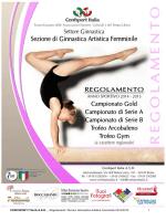 GAF Regolamento Tecnico 2014-2015