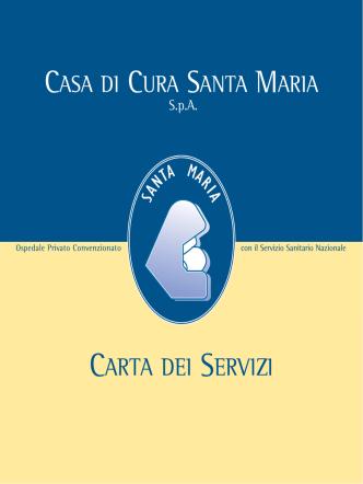 CARTA DEI SERVIZI - Santa Maria SpA