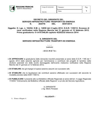 D.D.S. 264/ITE del 30/07/2014