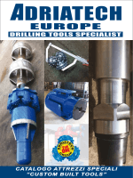 "CATALOGO ATTREZZI SPECIALI ""CUSTOM BUILT TOOLS"""