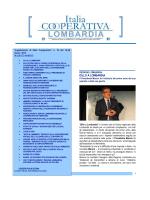 notiziario marzo 2014 - Confcooperative Lombardia
