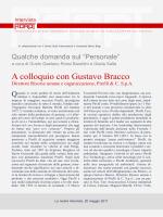 A colloquio con Gustavo Bracco, Direttore Risorse umane e
