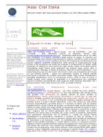 ASSOCRAL - aggiornamenti Settembre 2014