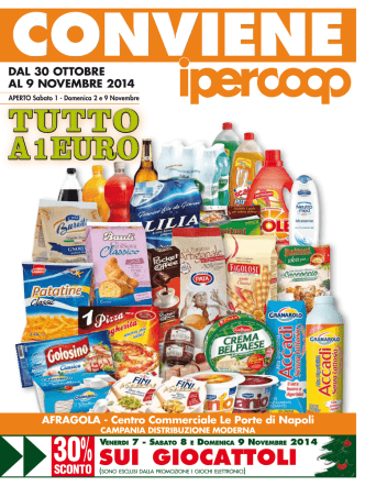 30% - Unicoop Tirreno