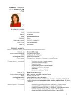 Curriculum Campa - Gazzetta Amministrativa