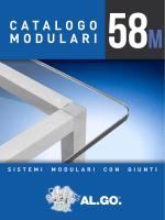 Catalogo modulari e giunti
