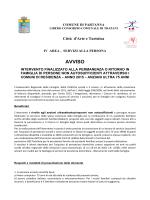 AVVISO ANZIANI - Comune di Partanna