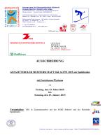 zur Ausschreibung Tiroler Meisterschaften 2015