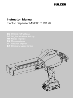 Instruction Manual Electric Dispenser MIXPAC™ DB 2K