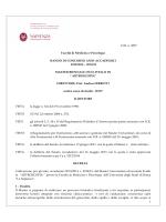 D.R. n. 3837 Facoltà di Medicina e Psicologia BANDO