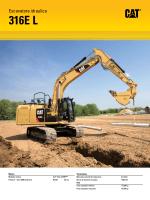 escavatore idraulico 316E L