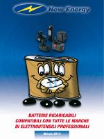 Catalogo Batterie Elettro Utensili