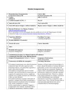 Letteratura tedesca III - Corso di Studi in Lingue