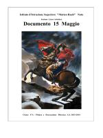 VA Artistico - Liceo Statale Matteo Raeli Noto