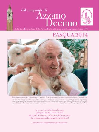 aprile - Parrocchia San Pietro Apostolo