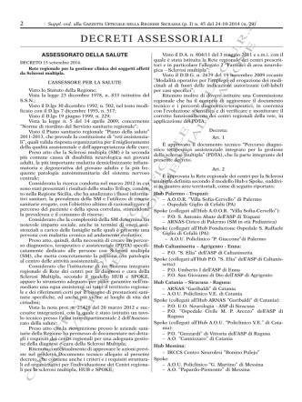 Decreto 15 settembre 2014