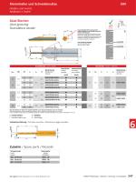 Axial-Stechen Axial grooving Scanalatura assiale Klemmhalter und