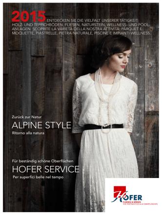 ALPINE STYLE HOFER SERVICE