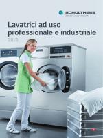 Lavatrici ad uso professionale e industriale