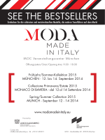 Moda Made in Italy Advertising for Buyers