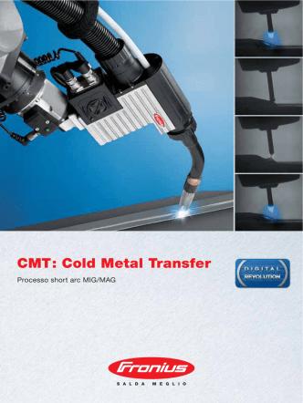 CMT: Cold Metal Transfer