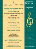 programma saggi - Filarmonica di Chiavari