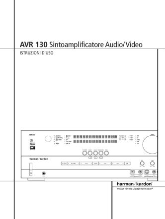 AVR 130 Sintoamplificatore Audio/Video - Hi
