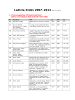 Ladinia-Index 2007–2014 - Atlante linguistico del ladino dolomitico