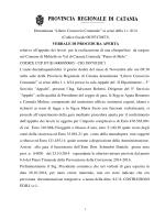 """Denominata """"Libero Consorzio Comunale"""" ai sensi della l. r. 8/14"""