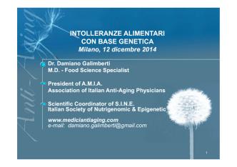 1° parte dott. Galimberti