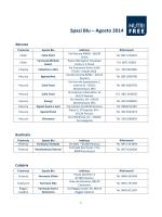 Spazi Blu – Agosto 2014