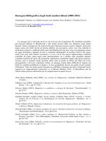 Rassegna bibliografica degli studi machiavelliani (2000