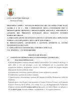 Disciplinare Project - Comune di Settimo Torinese