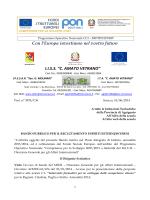 Reclutamento Esperti Corsi C1 2014