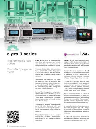 c-pro 3 series