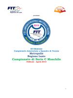Risultati Finali Serie C Metropolis Maschile