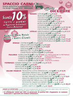 clicca qui - Spaccio Carni Celadina