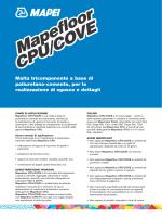 Mapefloor CPU/COVE Mapefloor CPU/COVE